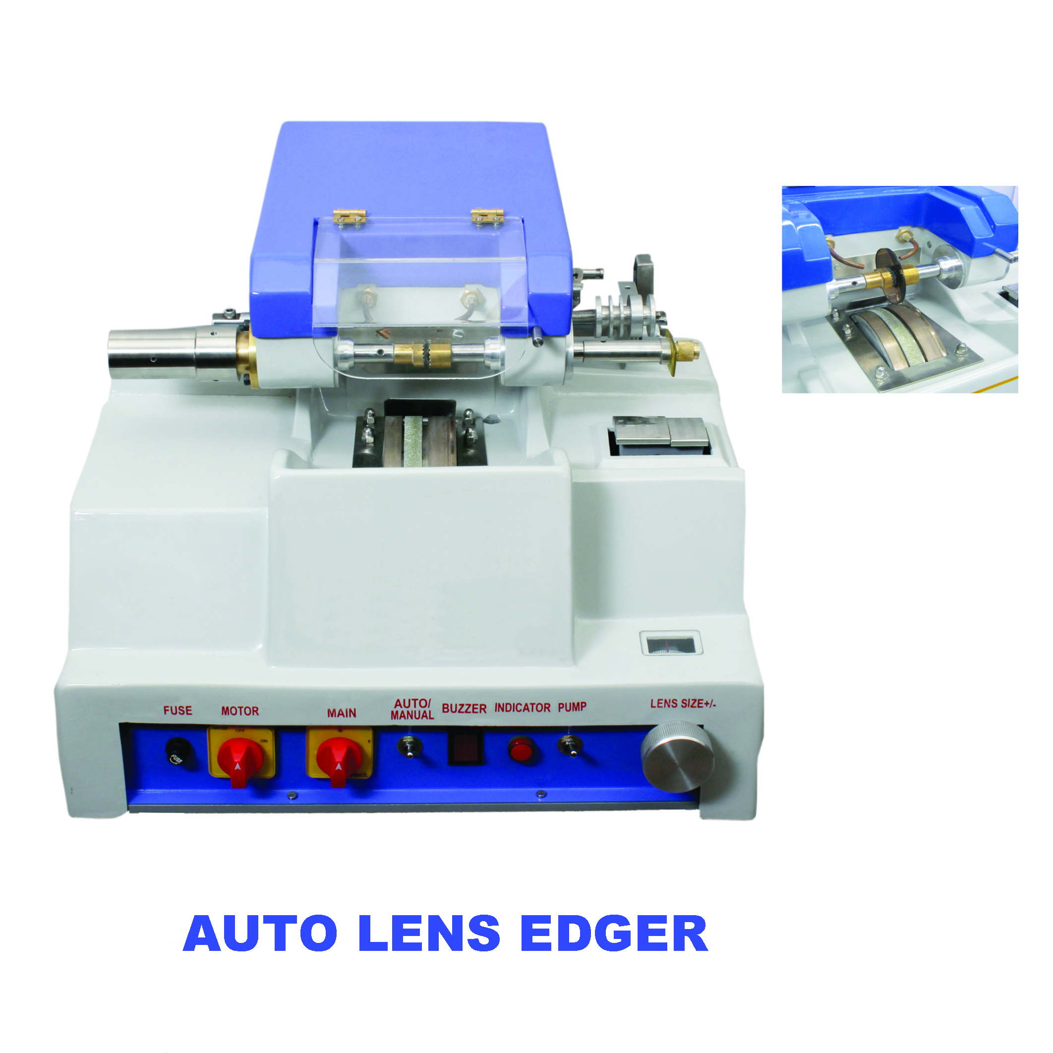 Semi-Automatic Lens Edger Machine by Deep International, INDIA